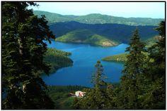 plastira lake Greece