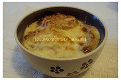 Sopa de cebolla, para calentar y reanimar el cuerpo!!!