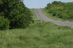 Road back home, near Ponder, Texas - April 22, 2012