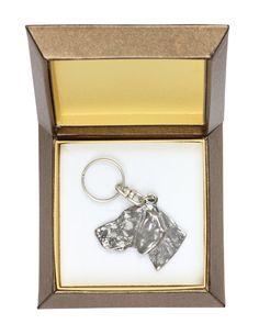 NEW Dogue de Bordeaux dog keyring key holder by ArtDogshopcenter Bullmastiff, Weimaraner, Doberman, Bloodhound, Cairn Terriers, Airedale Terrier, Black Russian Terrier, German Wirehaired Pointer, Norwich Terrier