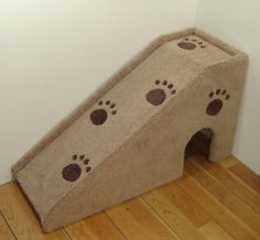 Dachshund ramp to get into bed!