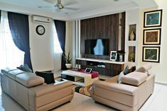 SAJAVAT: Home tour from Penang, Malaysia Prayer Room, Humble Abode, First Home, Ground Floor, House Colors, Home Deco, Living Area, Modern Contemporary, Beautiful Homes