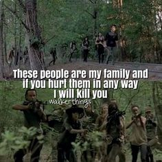 The Walking Dead. My family. TWD. Rick Grimes. Season 5.