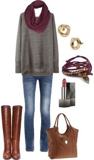 "fall outfits polyvore | ... Simple and comfy Fall Outfit"" by natihasi on Polyvore #pavelife #style"