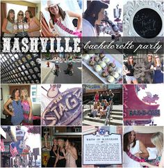 House by Hoff: Nashville Bachelorette Party: Welcome Bags + Itinerary