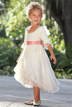 Brides: Flower Girl Dresses for a Summer Wedding | Wedding Dresses and Style | Brides.com