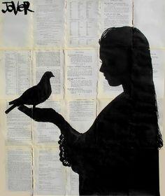 """Saatchi Online Artist Loui Jover; Drawing, """"dove"""" #art"""