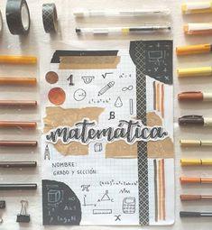 Bullet Journal Cover Ideas, Bullet Journal Lettering Ideas, Bullet Journal Notes, Bullet Journal Aesthetic, Bullet Journal Writing, Bullet Journal School, Notebook Cover Design, Notebook Covers, Diy Cahier