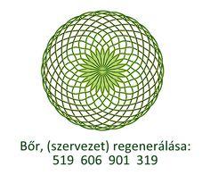 Bőr (szervezet) regenerálása Healing Codes, Numerology, Decorative Bowls, Mandala, Health, Anatomy, Health Care, Mandalas, Healthy
