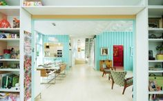 This Bright and Cheery Home Is Made From a Shipping Container