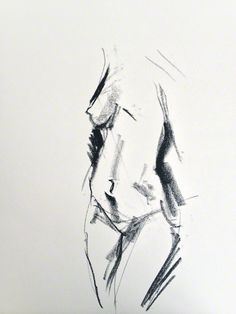 ::: Life drawing / gesture drawing ::: 60 sec sketch
