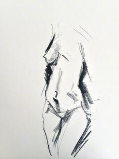 ::: Life drawing / gesture drawing ::: 60 sec sketch
