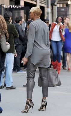 I don't do Nene but those shoes...that bag...I do