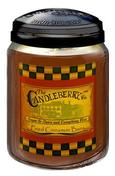 The Candleberry Co. Fried Cinnamon Buns Candle