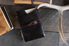 leather journal sketchbook photo book by WillowCreekLeatherCo