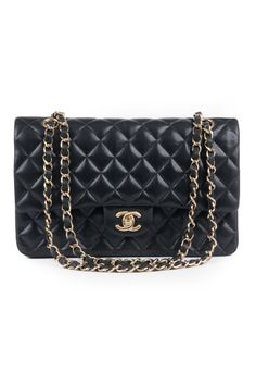 WGACA Vintage Vintage Chanel Classic Black Coco Bag