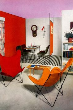 1950s hipsters: Pictures of mid-century style in Fifties House (houseandgarden.co.uk)