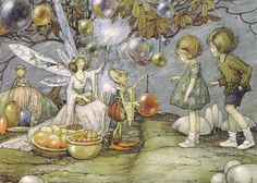 "Helen Jacobs (American, 1888–1970), ""The Fairy Market"" 