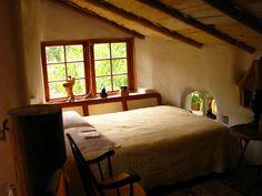 Cob Cottage Bedroom