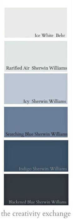 Shades of indigo, black and gray paint colors. Moody Monday 30 Stunning Interior Modern Style Ideas That Look Fantastic – Shades of indigo, black and gray paint colors. Exterior Paint Colors For House, Paint Colors For Home, Exterior Colors, Colors For Walls, Colors For Bedrooms, Blue Bedroom Colors, Hallway Paint Colors, Exterior Shades, Exterior Paint Schemes