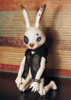 Punk - Doll Leaves Jax #bjd #doll