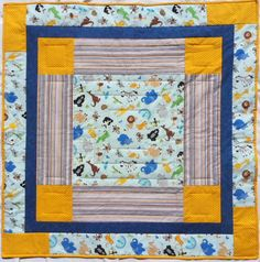 Jungle Animal Quilt Baby Quilt Bright Colored by QuiltedPleasures, $110.00 JUNE Shop Hop Entry!!