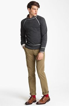 Billy Reid Sweatshirt, Shirt & Chinos