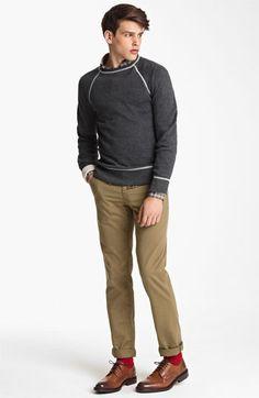 Billy Reid Sweatshirt, Shirt & Chinos