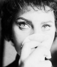 Sophia Loren, c. 1956.