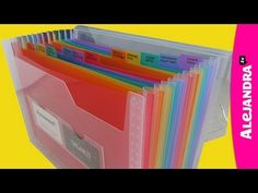 [ORGANIZING VIDEO]: Receipt Organizer for Home Office Organization. Alejandra shows us a nice way to organize paper receipts if you don't use ReceiptMatch, via the color-coded accordion folder. Receipt Organization, Home Office Organization, Paper Organization, Organizing Ideas, Clutter Organization, Accordion Folder, Office Paper, Paper Clutter, Getting Organized