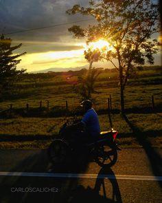 Travesía #Crossing #sun #sunset #moto #nature #cycle #destination #cali #palmira #travel #travelcolombia