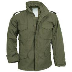 Mens Olive US Military Field Army Combat Jacket Vintage Parka Coat liner Size: L M65 Jacket, Combat Jacket, Jacket Men, Military Style Jackets, Military Jacket, Military Army, Army Jackets, Casual Jackets, Outerwear Jackets