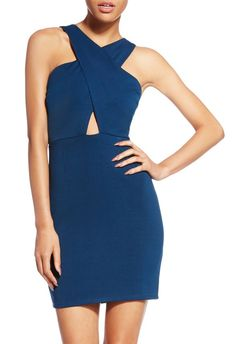 For a slightly bustier look, Margaret Bodycon Dress by JustFab is your new go-all-out look.