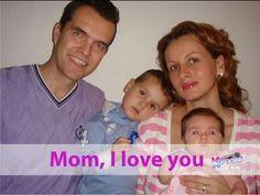 MAMINKO, MÁM TĚ RÁD - MOM, I LOVE YOU (Krásné děstké písničky v angličtině)