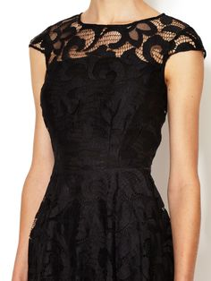 Lace Fit and Flare Dress by The Letter at Gilt