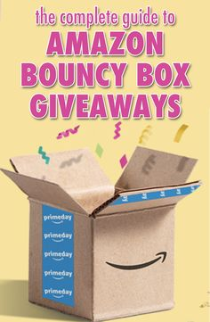 Find out all the information you need to get started entering AND winning Bouncy Box Giveaways! These fun boxes have everything from books to TVs to desks and MORE! Prizes range from $1 - $1000s in value!