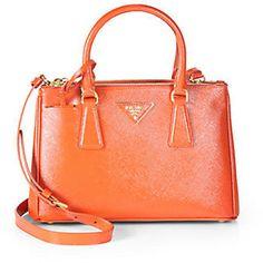Prada Saffiano Vernice Tote Bag