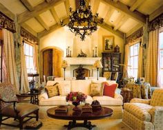 Luxury Country House - country style interior design ~ Design beautiful interiors and things