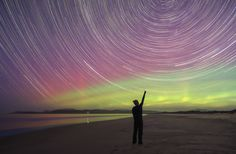 Yes, we do get the southern lights here in Australia. These are my personal favourites taken by me in southern Tasmania.  Hope you enjoy!      1. MARION BAY SELFIE        2. MILKY WAY, AURORA AND A LIGHTHOUSE        3. ROCKING THE RECLINER,