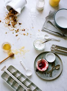 yogurt / styling by @Whenwillyou Branch Stelling, photos by ali harper.