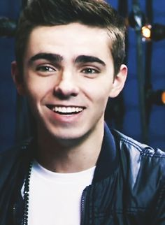 Nathan Sykes. His eyes, his eyes, make the stars look like their not shining!