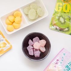 Fruit gummy🍓🍋🍇 #fruit #candy #healthy #snack #japanese #food #gummy