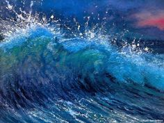Unicorn Waves, Painting by Unknown Artist