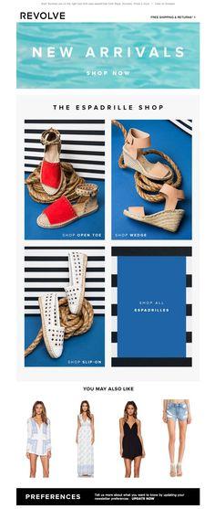 #newsletter 06.2015 The Espadrille Shop + more new summer arrivals