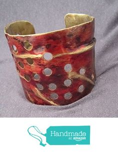 Metal Cuff Bracelet http://www.amazon.com/dp/B01CX7S4HI/ref=hnd_sw_r_pi_dp_hfA5wb1HEJD8Y #handmadeatamazon