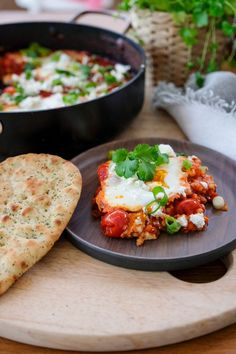 Healthy Breakfast Recipes, Vegetarian Recipes, Healthy Recipes, Food Dishes, Main Dishes, I Want Food, Ricotta, Good Food, Easy Meals