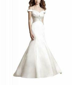 WitBuy New Satin V-Neck Off Shoulder Beaded Mermaid Wedding Dress WitBuy,http://www.amazon.com/dp/B00EBYX51M/ref=cm_sw_r_pi_dp_ZbXHsb1VRKJAC7DN
