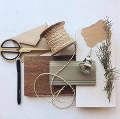 physical materials palette + mood board + interior design materials board + material palette + room color palette + browns and greens + nickel hardware + polished nickel + wood flooring + painted trim | Farmer's Daughter