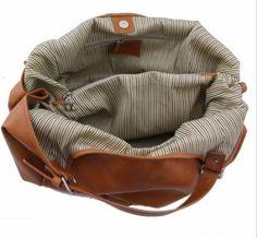 big tan leather bag | ricardo.gr