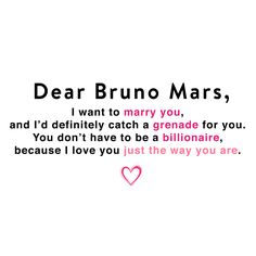 Dear Bruno Mars, you're amazing just the way you are! <3 #superbowl